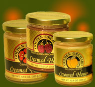 select 3 bottles or jars of Golden Orchard preserves, honeys and other products
