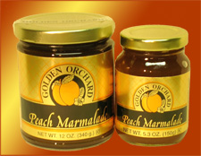 Golden Orchard's zesty Peach Marmalade