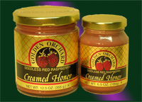 Golden Orchard's Raspberry Honey